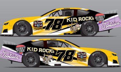El propietario de Trackhouse Racing, Justin Marks, se asoció con BJ McLeod, Travis Braden para llevar el diseño con temática de Kid Rock en All American 400