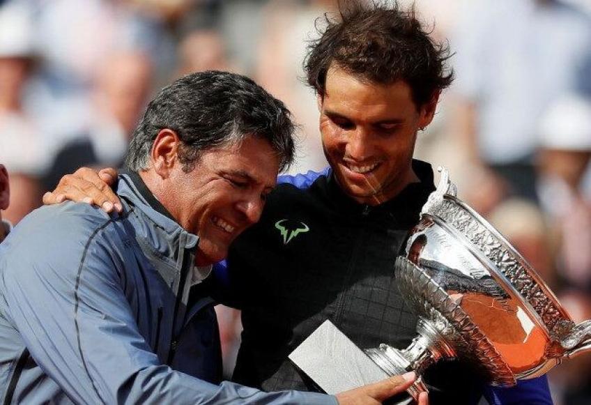 El tío Toni explica por que Novak Djokovic no es tan querido como Rafael Nadal, Roger Federer