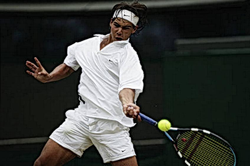 Joven Rafael Nadal: 'Es físico o mental, pero mi nivel ha bajado'