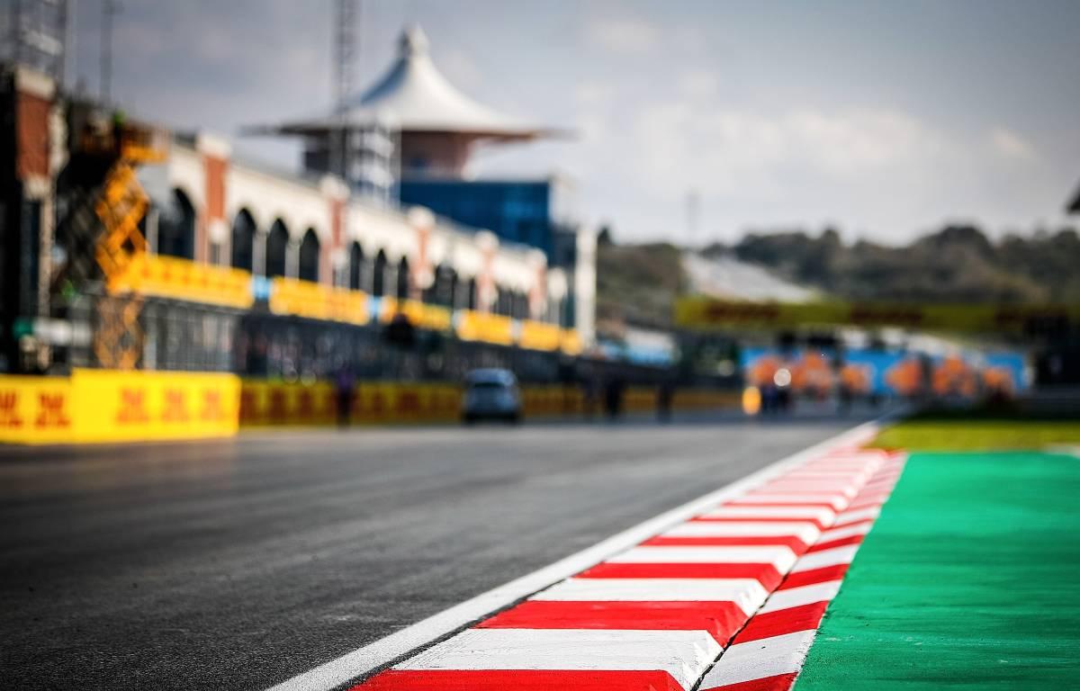 Vista general de la pista Istanbul Park, sede del GP de Turquía de noviembre de 2020.