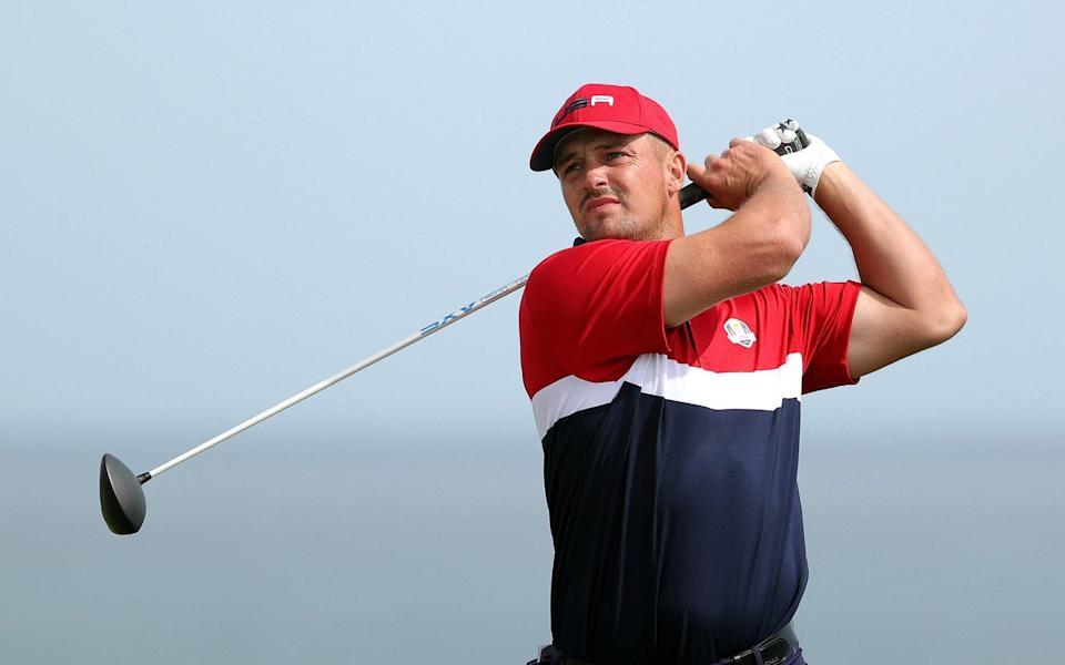 R&A y la Asociación de Golf de EE. UU. Han estado buscando limitar a jugadores como Bryson DeChambeau en su incesante búsqueda de una mayor longitud desde el tee - Getty Images