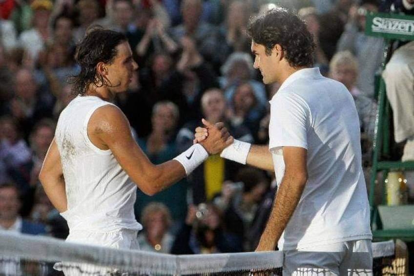 """Roger Federer: """"Echo de menos las camisetas sin mangas de Rafael Nadal"""""""
