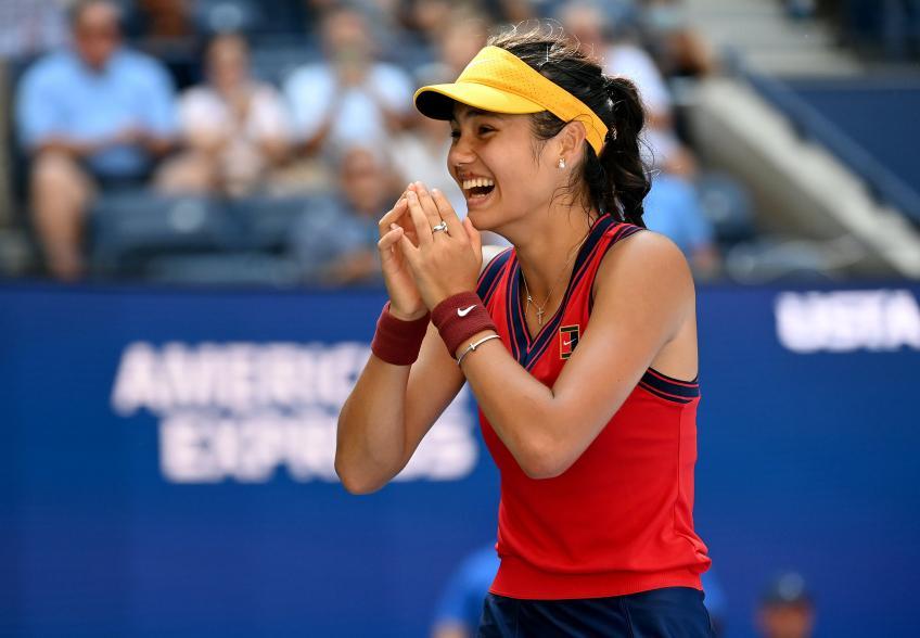 Emma Raducanu: Feliz de volver a la cancha de tenis, estoy prosperando allí