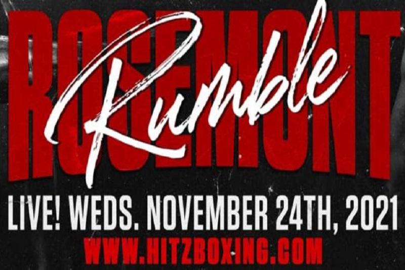 """Hitz Boxing anuncia """"Rosemont Rumble"""" para el 24 de noviembre"""