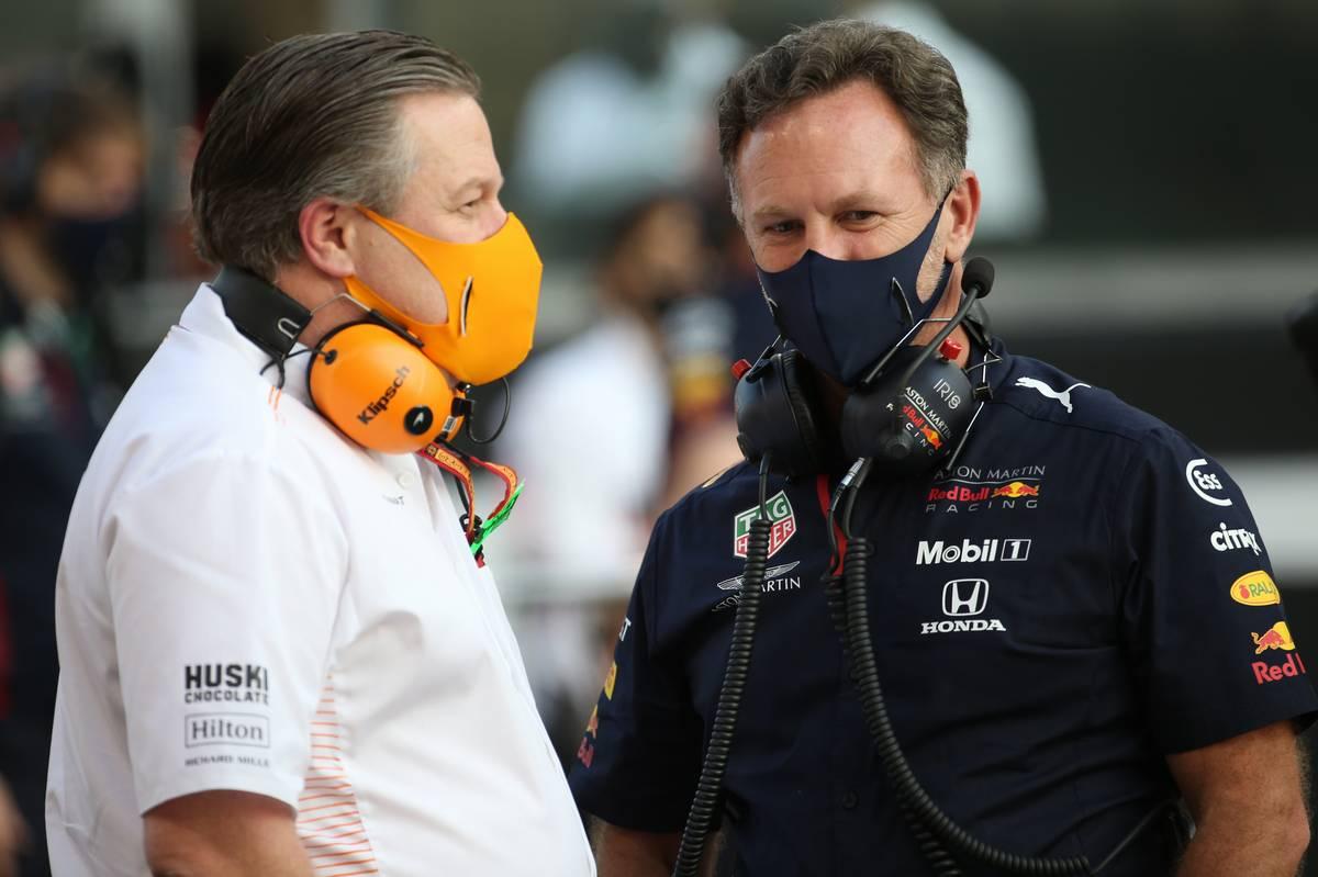 Horner: la amenaza de McLaren podría persistir en las carreras restantes