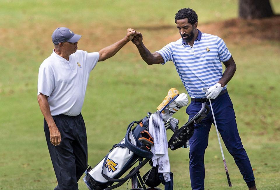 JR Smith da un paso adelante positivo, tiene mucho que aprender del debut en el golf universitario para North Carolina A&T