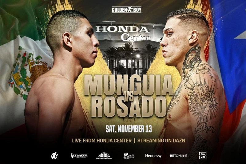 Jaime Munguia vs Gabriel Rosado se dirige a California el 13 de noviembre