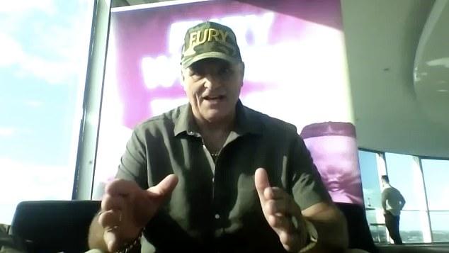 John Fury, el padre de Tyson, predice una victoria 'explosiva' sobre Deontay Wilder el sábado