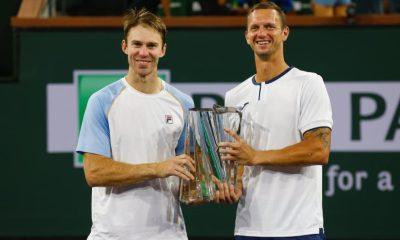 Indian Wells: John Peers y Filip Polasek vencieron al dúo de estrellas rusas por la corona de dobles