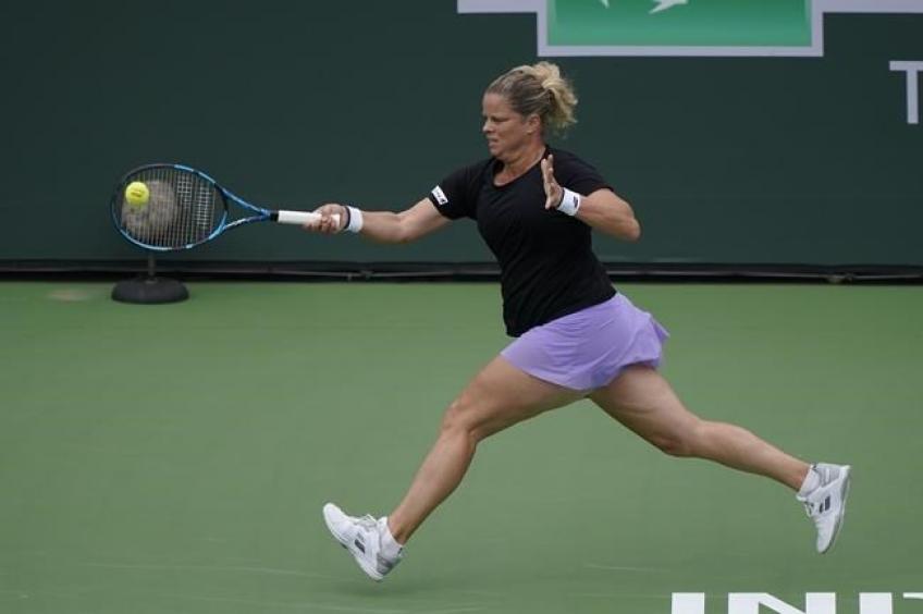 Indian Wells: Katerina Siniakova detiene el regreso de Kim Clijsters en 1R
