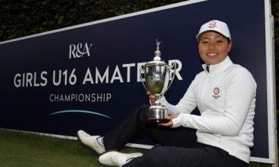 Kim reclama el título amateur femenino de R&A U16s - Golf News
