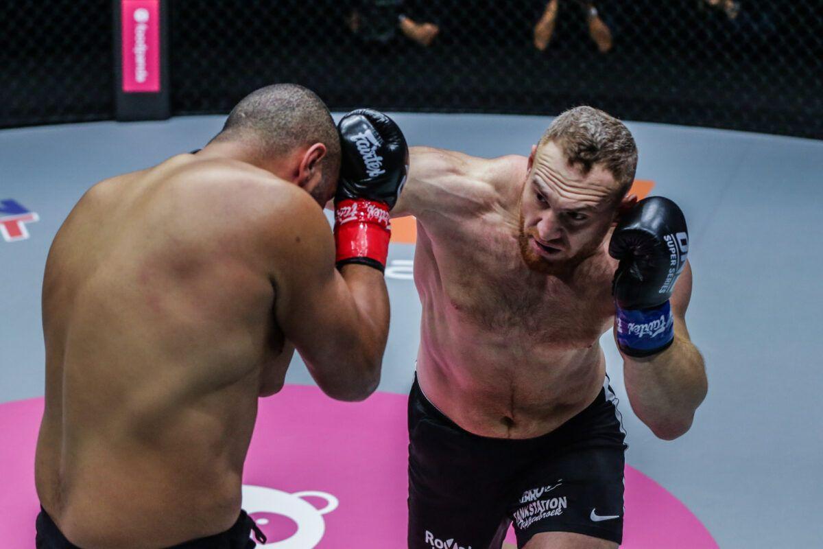 Anderson Silva y Murat Aygun pelean en ONE: BIG BANG