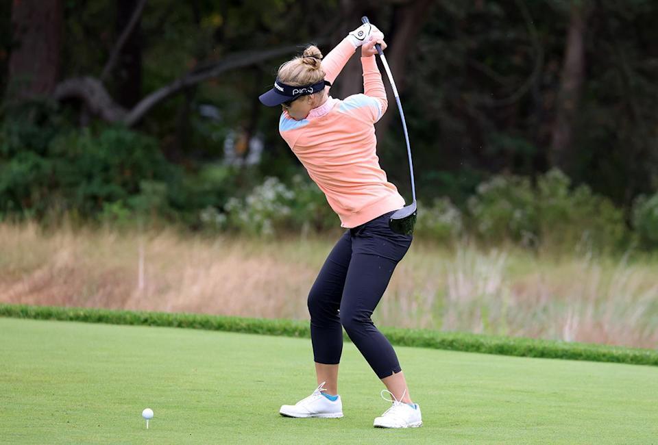 LPGA planea adoptar una regla local que limita la longitud del conductor, lo que significa que Brooke Henderson deberá hacer un cambio.