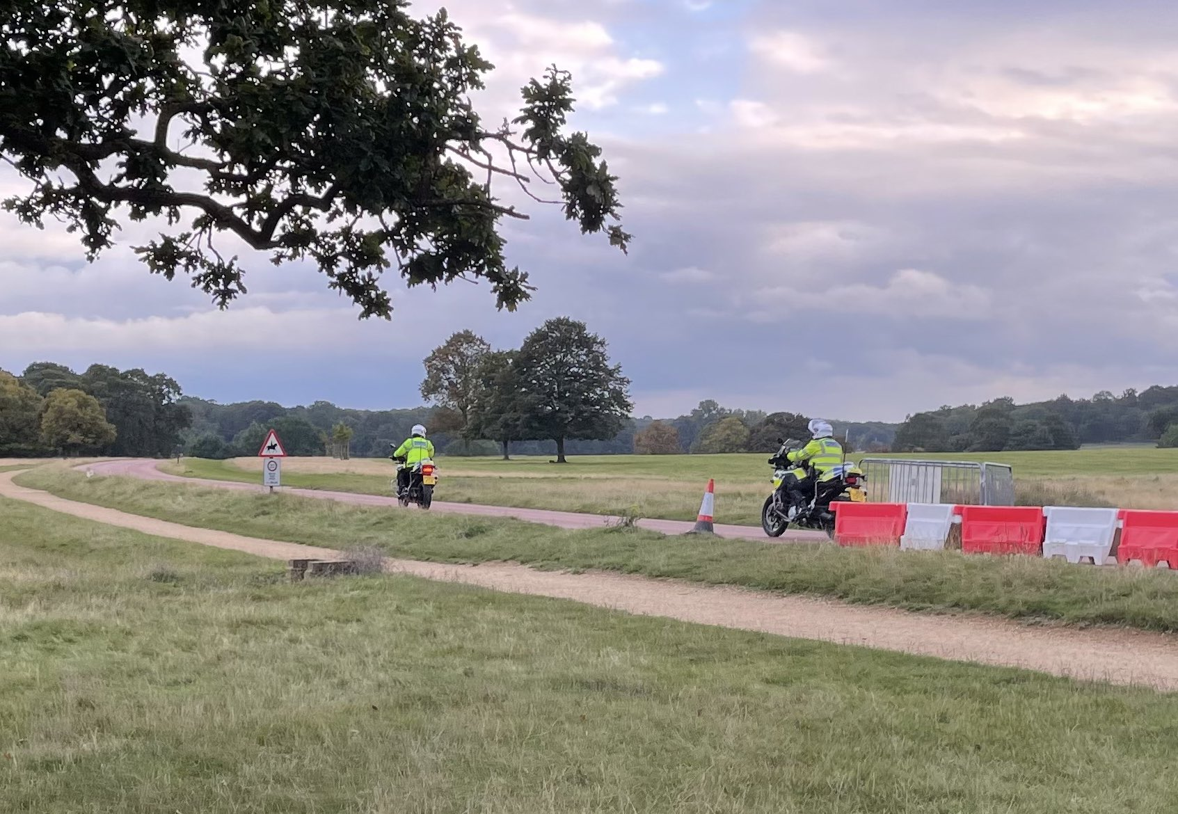 La policía hace arresto en Richmond Park en respuesta a un crimen violento habilitado para ciclomotores