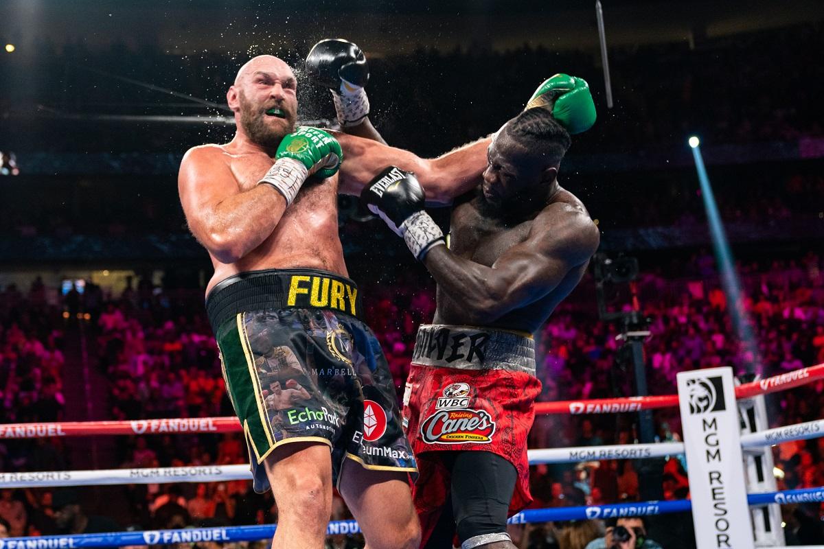 Tyson Fury Deontay Wilder Peso pesado