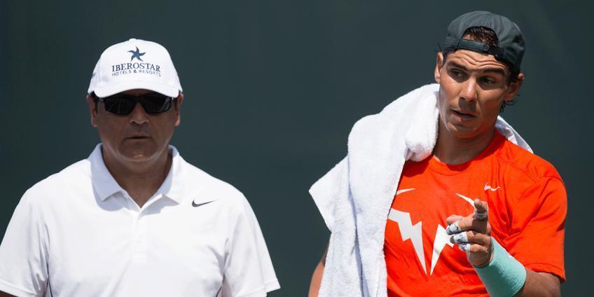 'Le di instrucciones a Rafael Nadal para que jugara duro y ...', dice el técnico superior