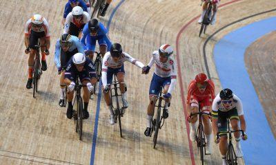 Los hombres británicos se pierden la medalla de Madison cuando Mørkøv obtiene el oro para Dinamarca en el último día de Roubaix Track Worlds