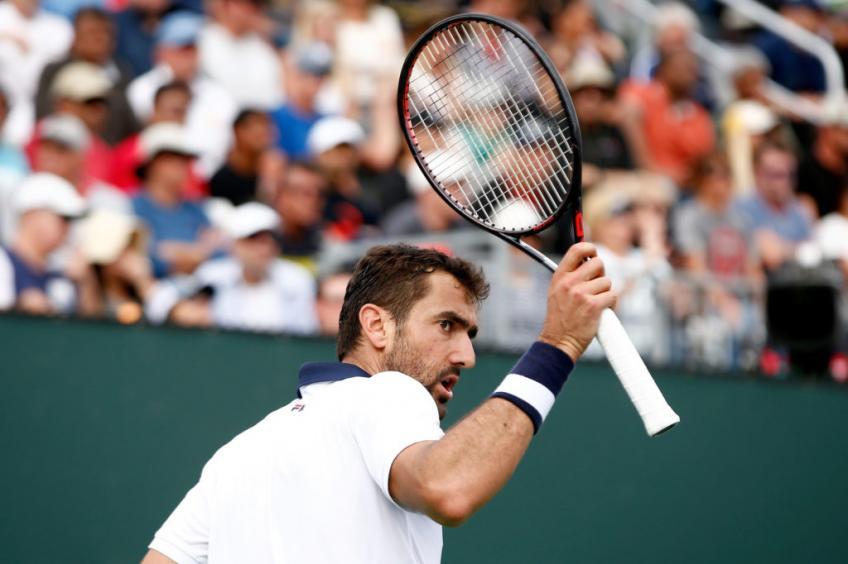 Marin Cilic se une a Novak Djokovic en la lista de retiradas de jugadores del Indian Wells Masters