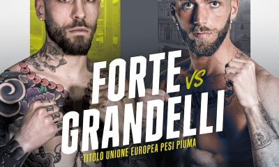 Mauro Forte enfrentará a Francesco Grandelli en Roma Boxing Night