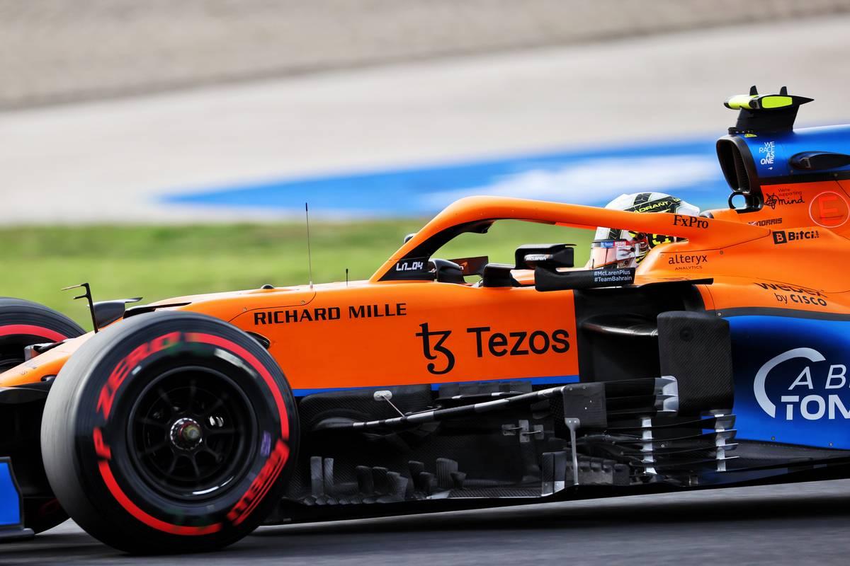 Lando Norris (GBR) McLaren MCL35M.  08.10.2021 Campeonato del Mundo de Fórmula 1, Rd 16, Gran Premio de Turquía, Estambul