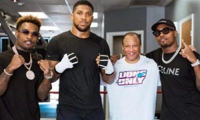 Anthony Joshua Mike Tyson entrenador Ronnie Shields Charlos