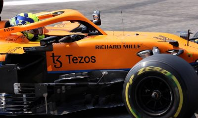 Lando Norris (GBR) McLaren MCL35M.  11.09.2021.  Campeonato del Mundo de Fórmula 1, Ronda 14, Gran Premio de Italia, Monza