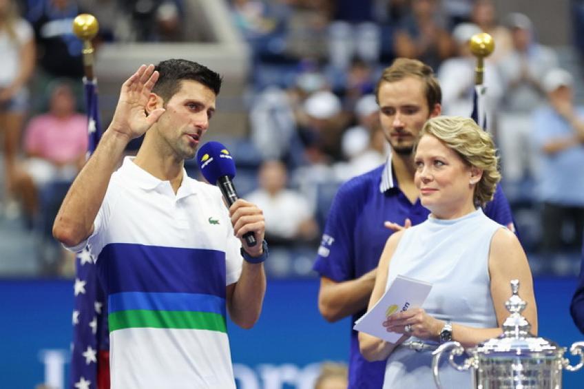 Novak Djokovic se acerca al récord de Roger Federer en Major