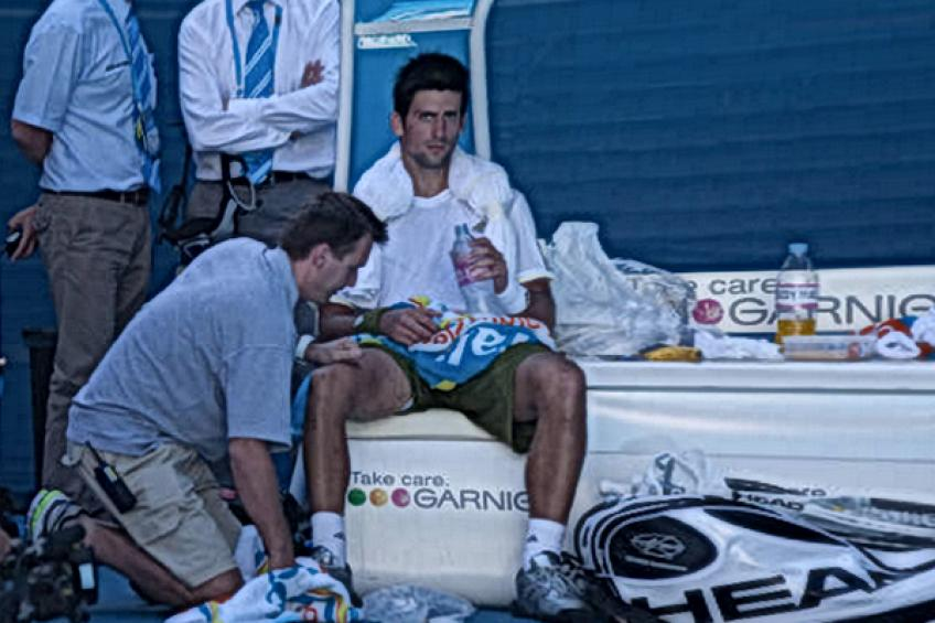 'Novak Djokovic se estira todo el tiempo', dice la leyenda de la WTA