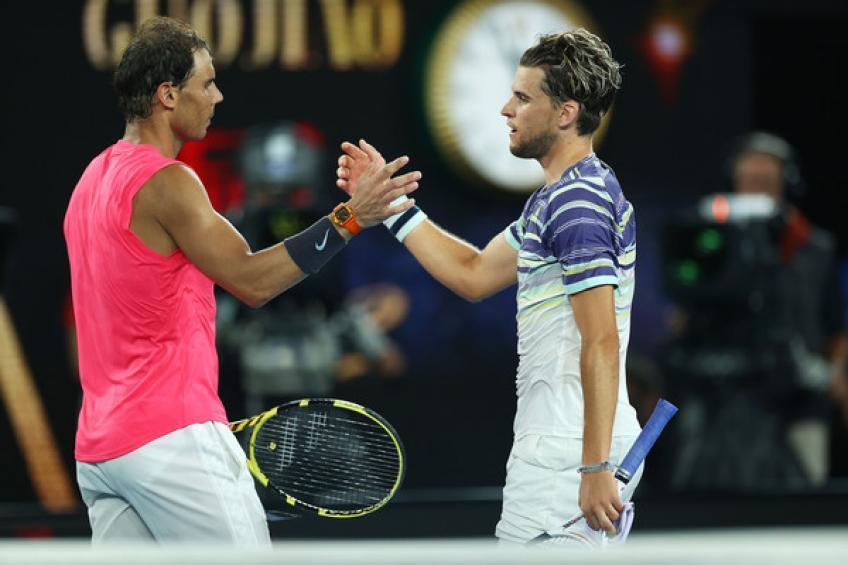 Rafael Nadal recuerda: 'Novak Djokovic se merece el título, aunque yo aplaudí a Thiem'