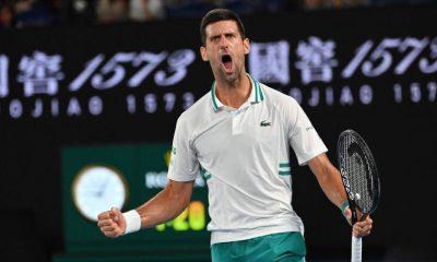 'Novak Djokovic va a tener que contárnoslo', dice la leyenda