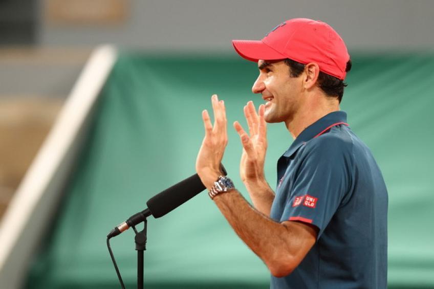 'Para mí era importante jugar con Roger Federer incluso ...', dice la ex estrella