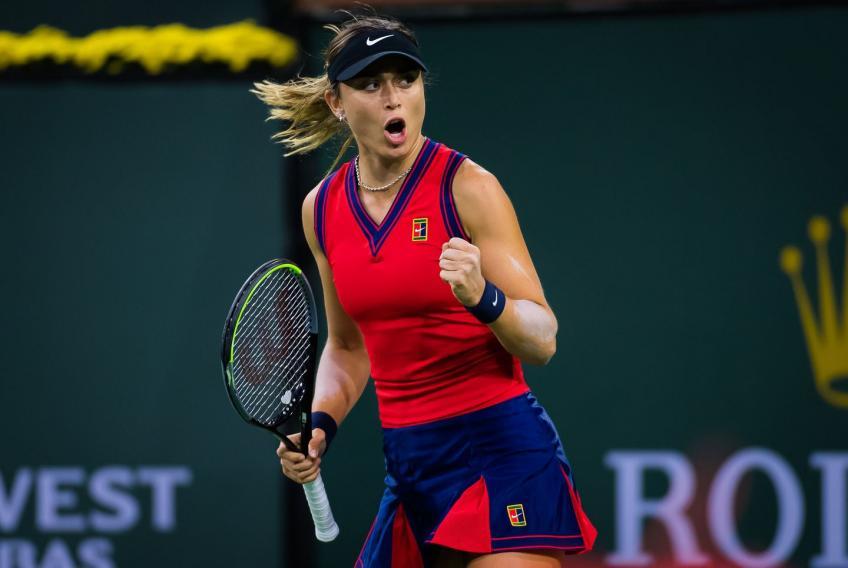 Paula Badosa reacciona a destruir absolutamente a Cori Gauff en Indian Wells
