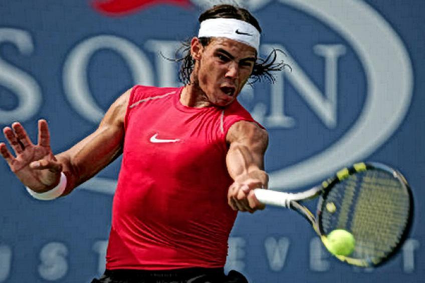 Joven Rafael Nadal: 'Perder en un gran evento nunca es fácil'