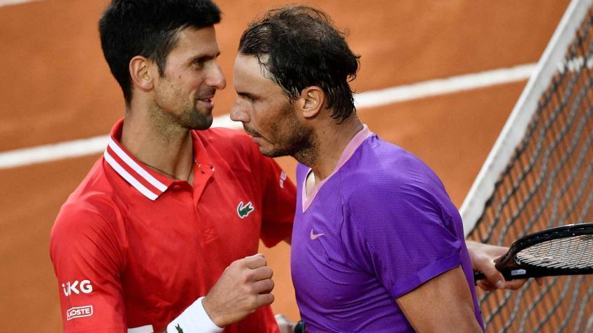 'Rafael Nadal golpea el balón tan alto desde el primer balón en adelante', dice joven as