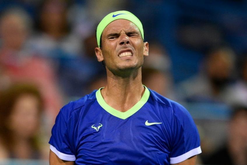 'Rafael Nadal se me acercó en medio del partido y me preguntó ...', dice el técnico superior