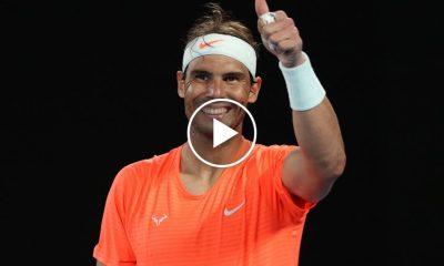 Rafael Nadal sorprende y conmueve a un hincha de 90 años