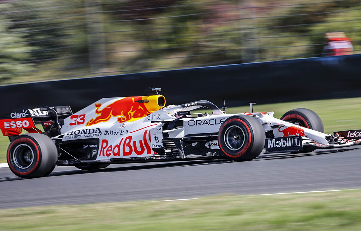 Max Verstappen en el Gran Premio de Turquía.  Estambul, octubre de 2021