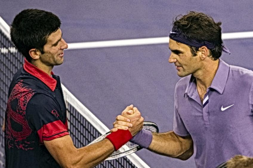 Flashback de Shanghai: Roger Federer vence a Novak Djokovic para establecer el choque de Andy Murray