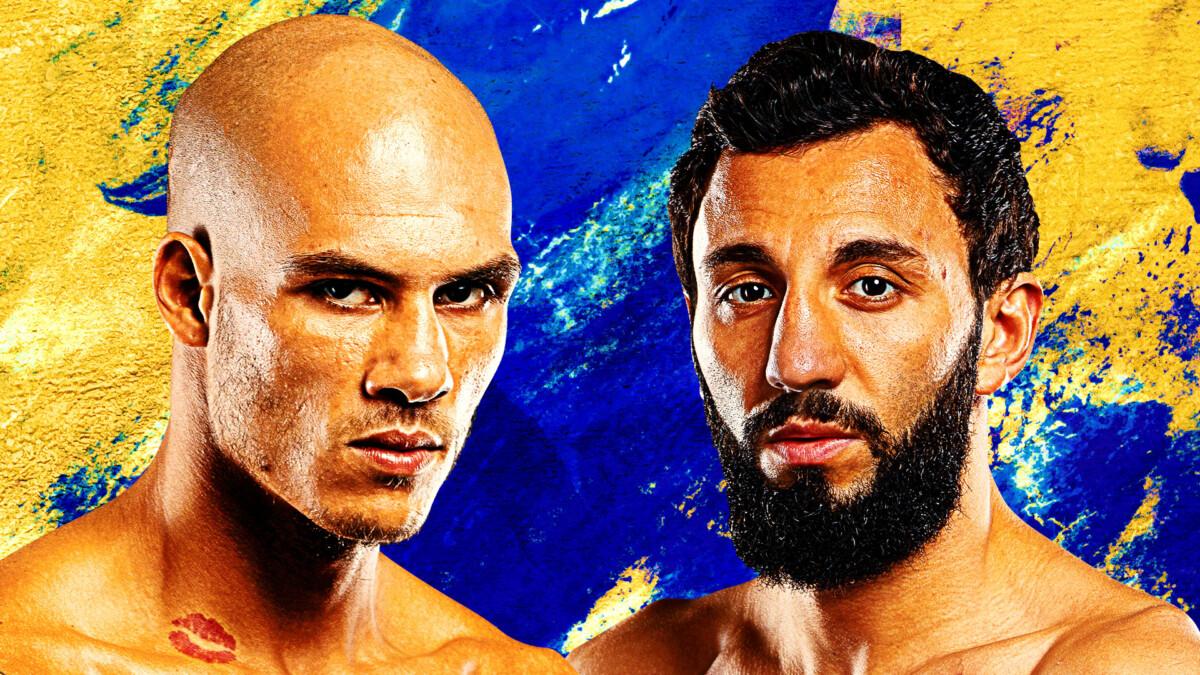 Samy Sana lucha contra Chingiz Allazov en ONE: FIRST STRIKE el 15 de octubre