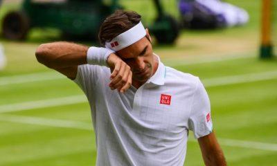 'Si juegas contra un campeón como Roger Federer muchas veces ...', dice la leyenda