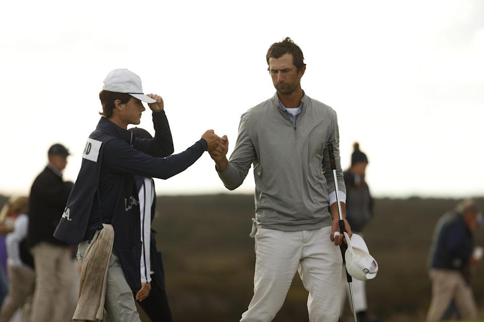 Stewart Hagestad lidera el Mid-Amateur de EE. UU. Después de 18 hoyos en el campo de golf Sankaty Head