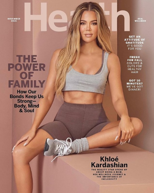Tristan Thompson se entusiasma con los abdominales de acero de Khloe Kardashian