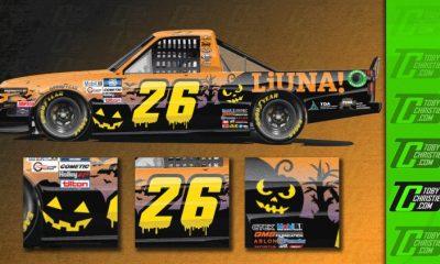 Tyler Ankrum, LiUNA traen diseño con temática de Halloween a Martinsville