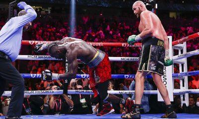 Tyson Fury detuvo enfáticamente a Deontay Wilder para poner fin a su histórica trilogía el fin de semana pasado