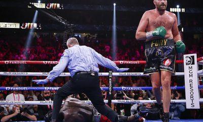 Tyson Fury está disfrutando de su triunfo sobre Deontay Wilder, vendiendo fotos firmadas por £ 100