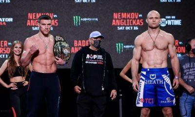 Bellator 268: Vadim Nemkov contra Julius Anglickas