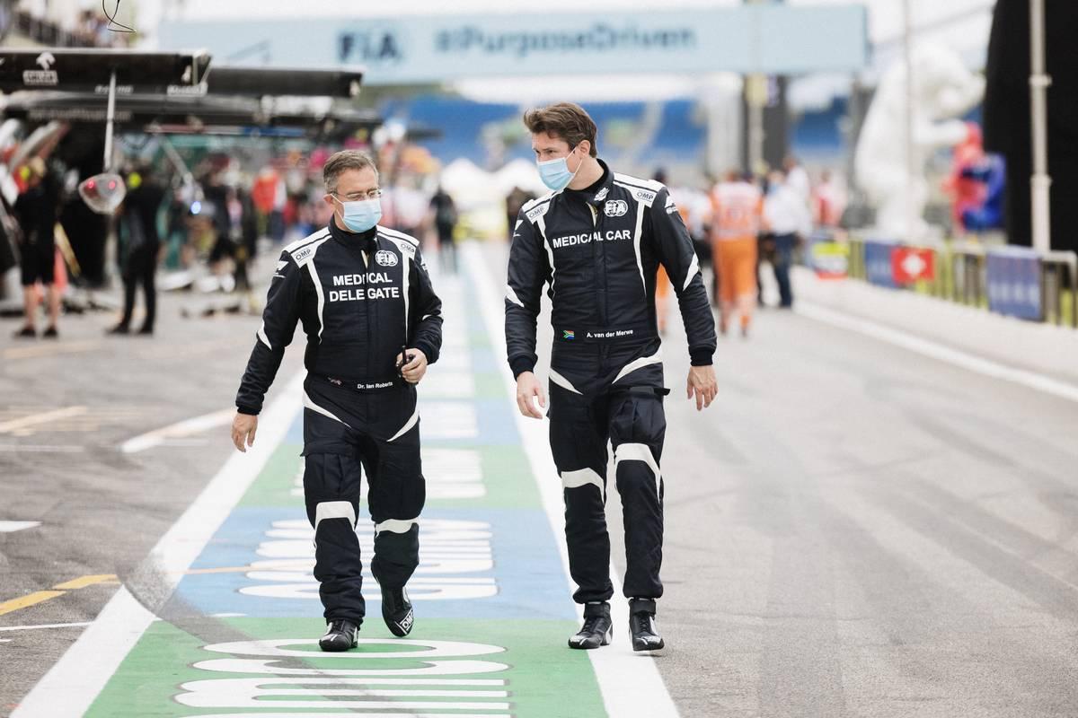 Van der Merwe, piloto médico de F1, probablemente se perderá las últimas carreras