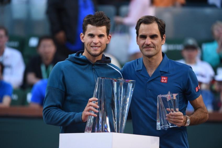 Dominic Thiem: 'Vencer a Roger Federer en Indian Wells se sintió genial'