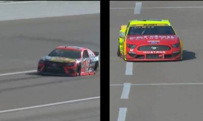 Video (s): Martin Truex Jr. y Ryan Blaney continúan la tendencia de problemas de neumáticos para los pilotos de playoffs en la primera etapa en Kansas